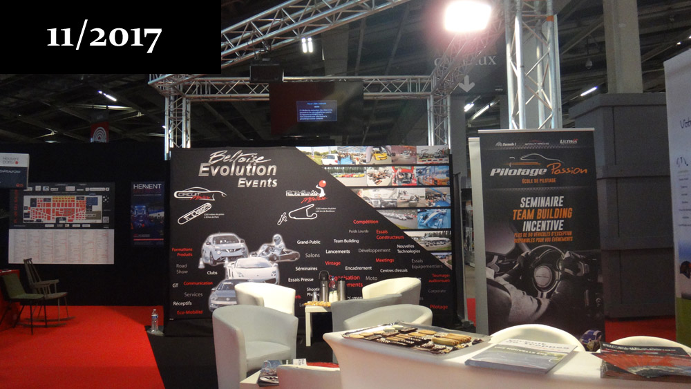 Stand Beltoise Evolution sur le salon Heavent 2017